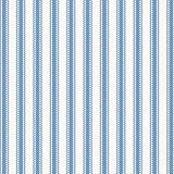 Carousel Designs Ocean Blue Ticking Stripe Fabric by the Yard - Organic 100% Cotton