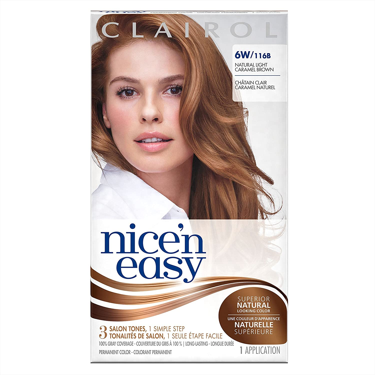 Amazon Nice N Easy Permanent Hair Color 6w Natural Light