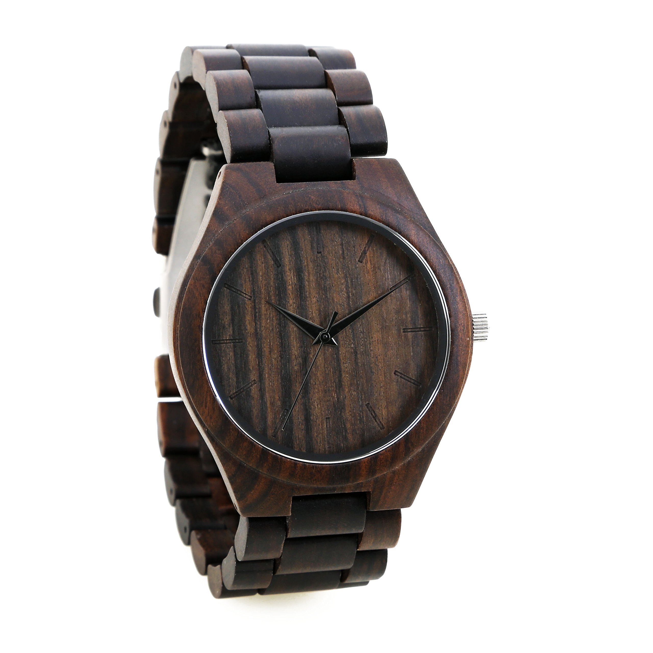 Personalized Engraved Wooden Watch Custom Wood Watch Groomsman Gift Fathers Day Gift Anniversary Wedding Gift Engraved All Natural Wood- Free Gift Box