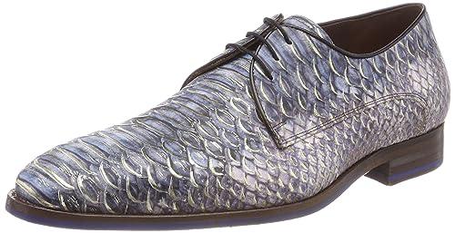 Floris Van Bommel 14170, Zapatos de Cordones Derby para Hombre, Azul (Blue 00), 40 EU Floris Van Bommel
