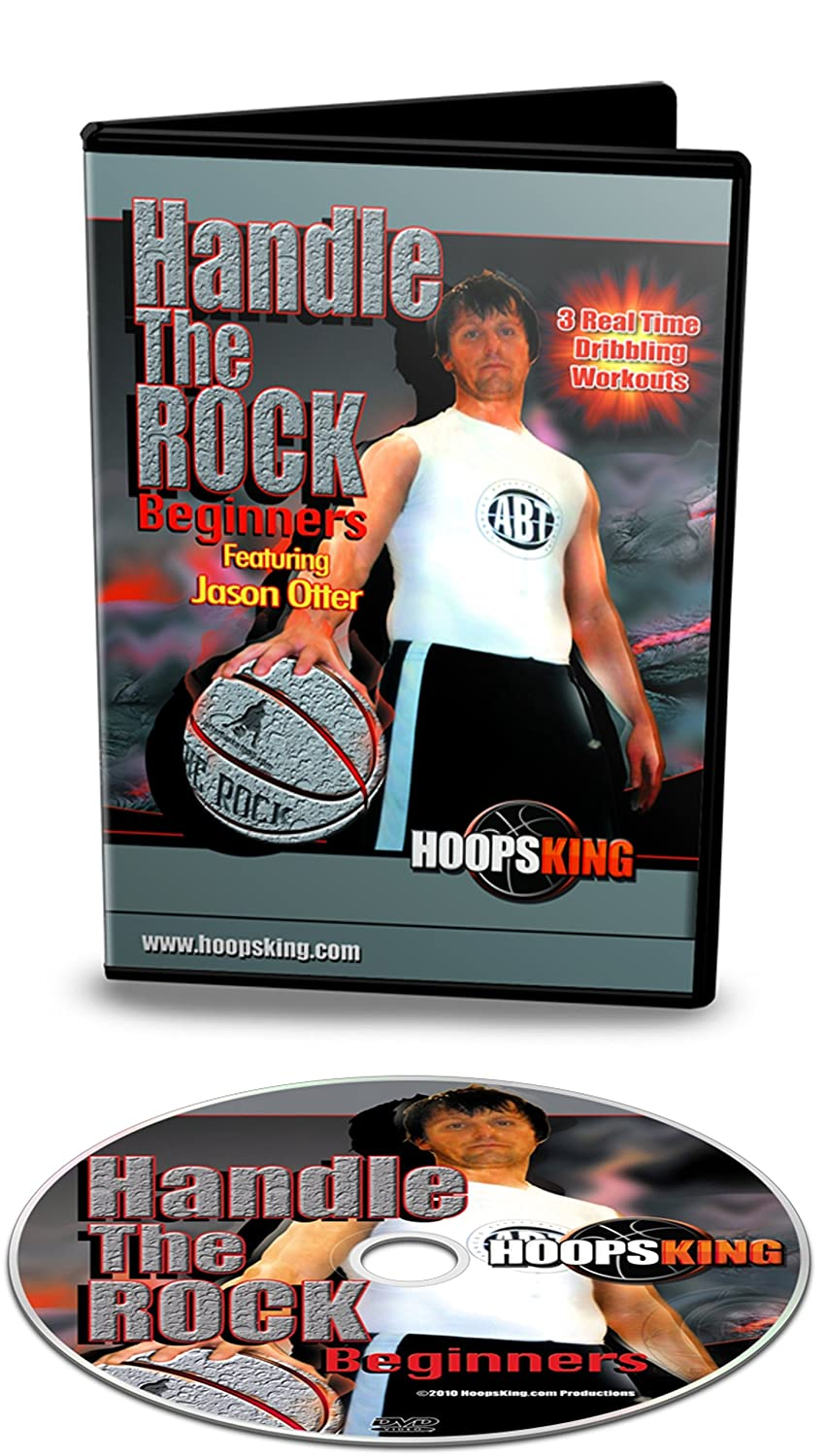 HoopsKing Handle The Rock Beginner Workouts - DVD - Follow Right Along with The Video - Learn from A Pro Trainer - Real Time Workouts - Pro Trainer ...