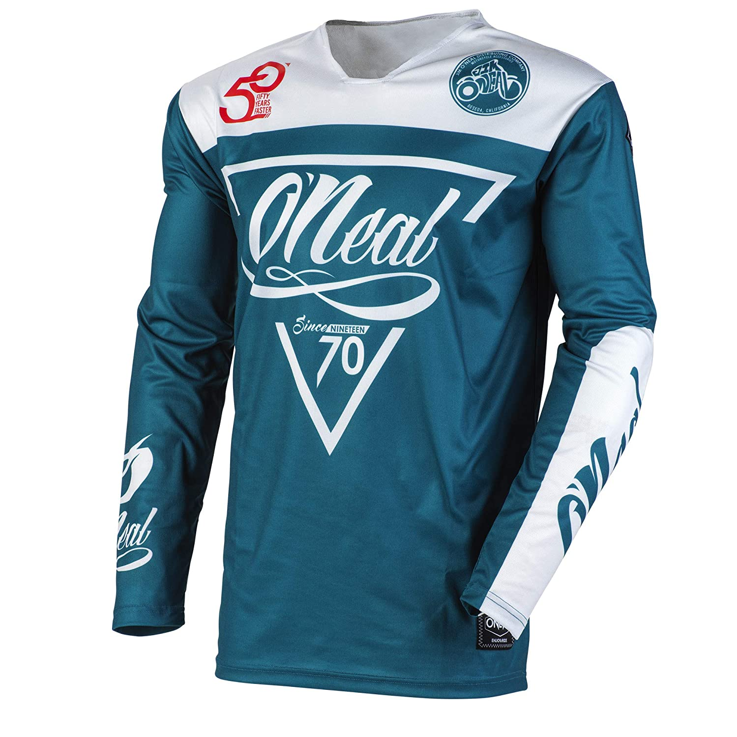 ONeal Mayhem Reseda Adult Jersey Blue//Gray, L