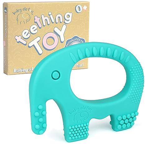 Newborn Teeth Training Teething Molar Stick Toy Baby Silicone Bite Teether W