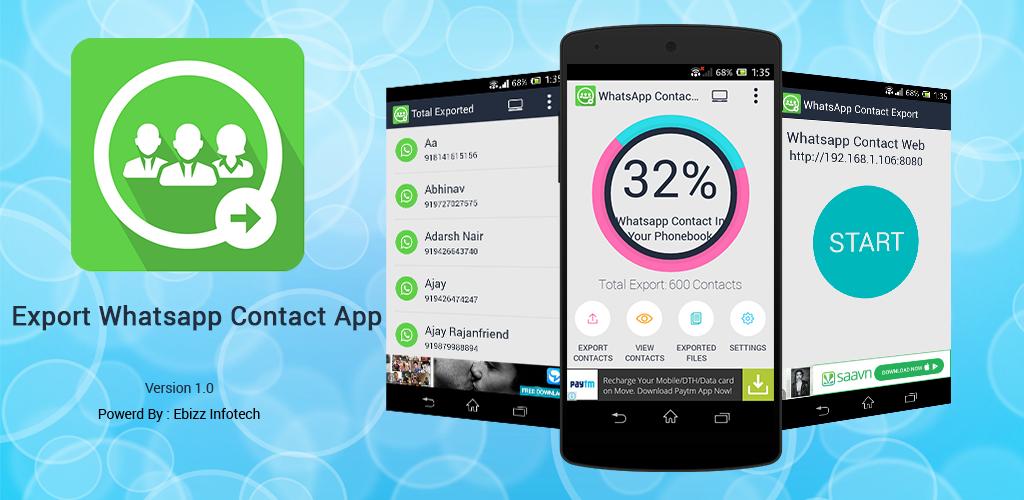 Exportación Whatsapp Contacto: Amazon.es: Appstore para Android