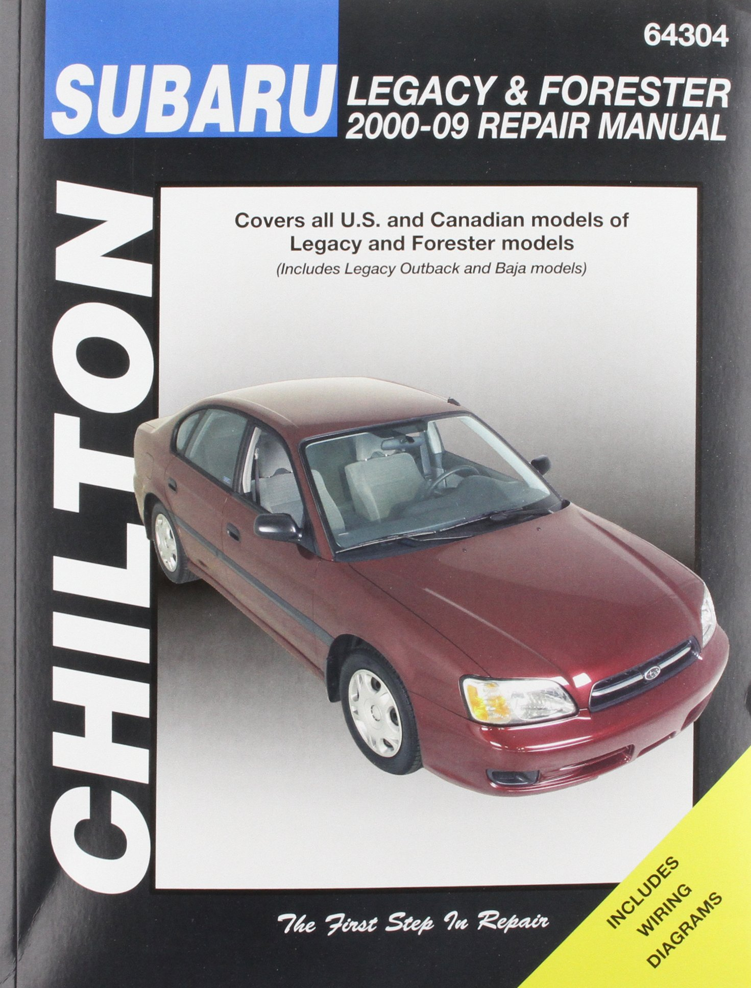 Chilton Total Car Care Subaru Legacy 2000-2009 & Forester 2000-2008 Repair Manual Chiltons Total Car Care Repair Manual: Amazon.es: Robert Maddox, ...