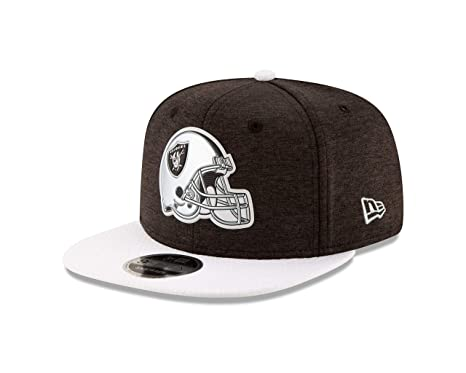 1a3c59aa567 Image Unavailable. Image not available for. Color  New Era Oakland Raiders  Helmet Snapback 9Fifty Original Fit NFL Hat