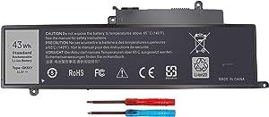 GK5KY Laptop Battery for Dell Inspiron 11 3000 Series 3147 3148 3153 3152 3157 3158 15 7000 7558 7568 13 7353 7359 7347 7348 7352 4K8YH 92NCT 04K8YH RHN1C 0WF28 P20T P20T001 P55F P55F001 451-BBKK 43WH