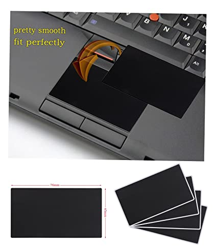Asunflower Genuine Smooth Touchpad Sticker for Lenovo IBM Thinkpad T410  T410i T410s T400s T420 T420i T420s T430 T430s T430i T510 T510i W510 W520  (Pack