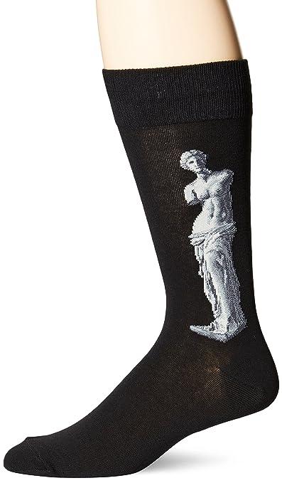 Amazon.com: Hot Sox Mens Artist Series Crew Socks, Birth of Venus (Blue), Shoe Size: 6-12: Industrial & Scientific