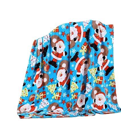 Christmas Throw Blanket.Holiday Christmas Throw Blanket Soft Plush 50x60 Santa