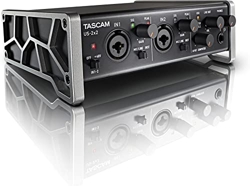 Tascam US-2x2 USB Audio/MIDI Interface