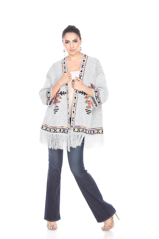 Kamana Rising International Womens Winter Wide Body Sweater Grey