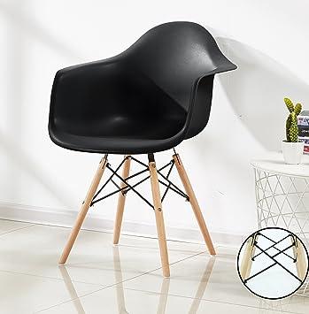 AuBergewohnlich Pu0026N Homewares Romano Da Moda Wanne Stuhl Kunststoff Retro Esszimmer Stühle  Weiß Schwarz Grau Rot Gelb
