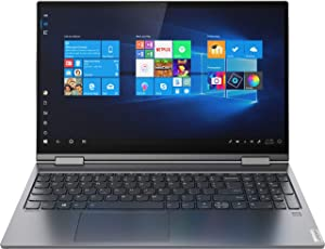 "Lenovo Yoga C740-15.6"" FHD Touch - 10th gen i5-10210U - 12GB - 256GB SSD - Gray (Renewed)"