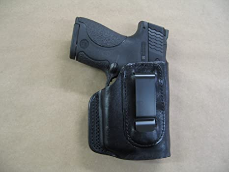 Ruger LC9, LC9S EC9s 9mm IWB Leather In The Waistband Concealed Carry  Holster TAN RH