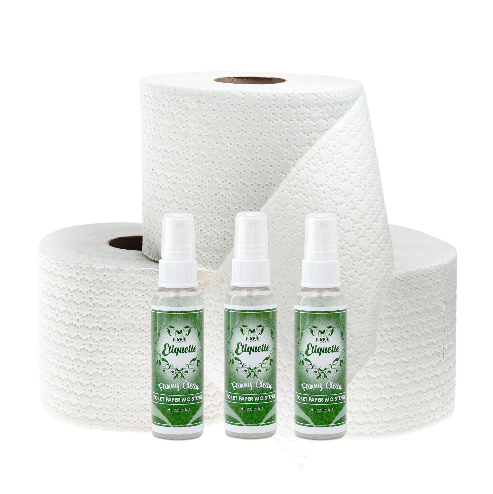 Toilet Paper Moistener Flushable Wipe Alternative - Organic Based ...
