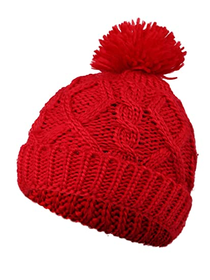 Buy Kids Knit Beanie Children s Winter Hat Boys Girls Winter Cap ... bc08b847ec4