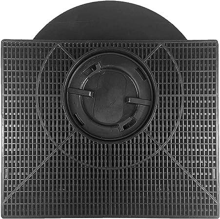 Spares2go - Filtro de carbono tipo 303 para campana extractora Whirlpool (205 x 215 x 43 mm): Amazon.es: Hogar