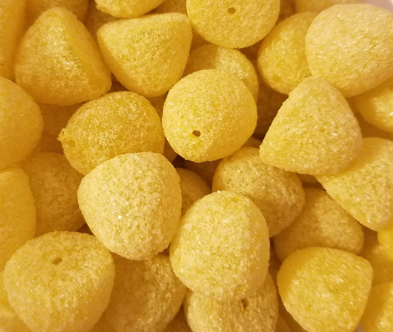 100 Pcs Assorted Medium Sugared Gumdrop Sugar Coated Candy Gum Drop Christmas Craft Beads