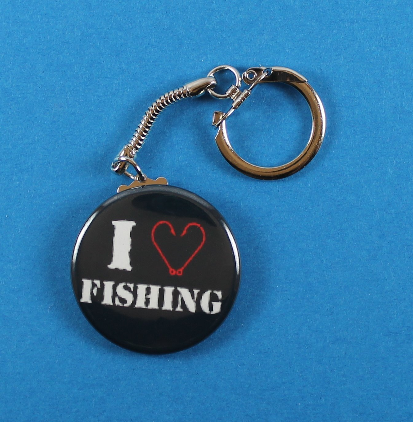 Amazon com: I Love Fishing: Handmade