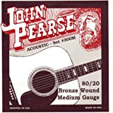 John Pearse 300M 80/20 Bronze Acoustic Guitar Strings (Standard)