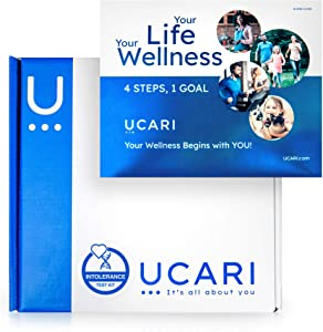 UCARI Intolerance & Food Sensitivity Test Kit for Adults & Kids | Non-Invasive Environmental, Skin, Gluten & Food Intolerance Test Kit | Bioresonance Home Health Testing Kits, Fast Results