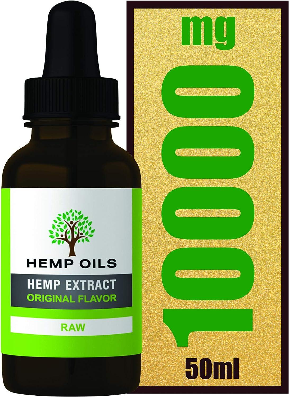 Botella grande de 50 ml – 20% 10000 mg (crudo) Extracto de cáñamo – Extracto de cáñamo de alta resistencia – 5 meses de suministro [informe de laboratorio proporcionado a petición]