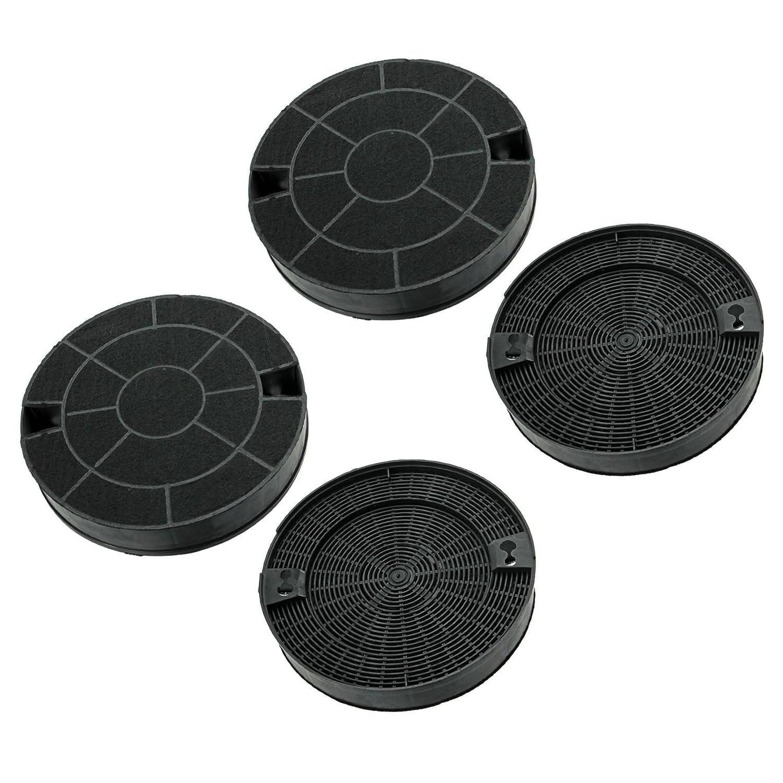 Ex-Pro - Extractor de ventilación Filtro de carbón para campana de IKEA 4 unidades: Amazon.es: Hogar