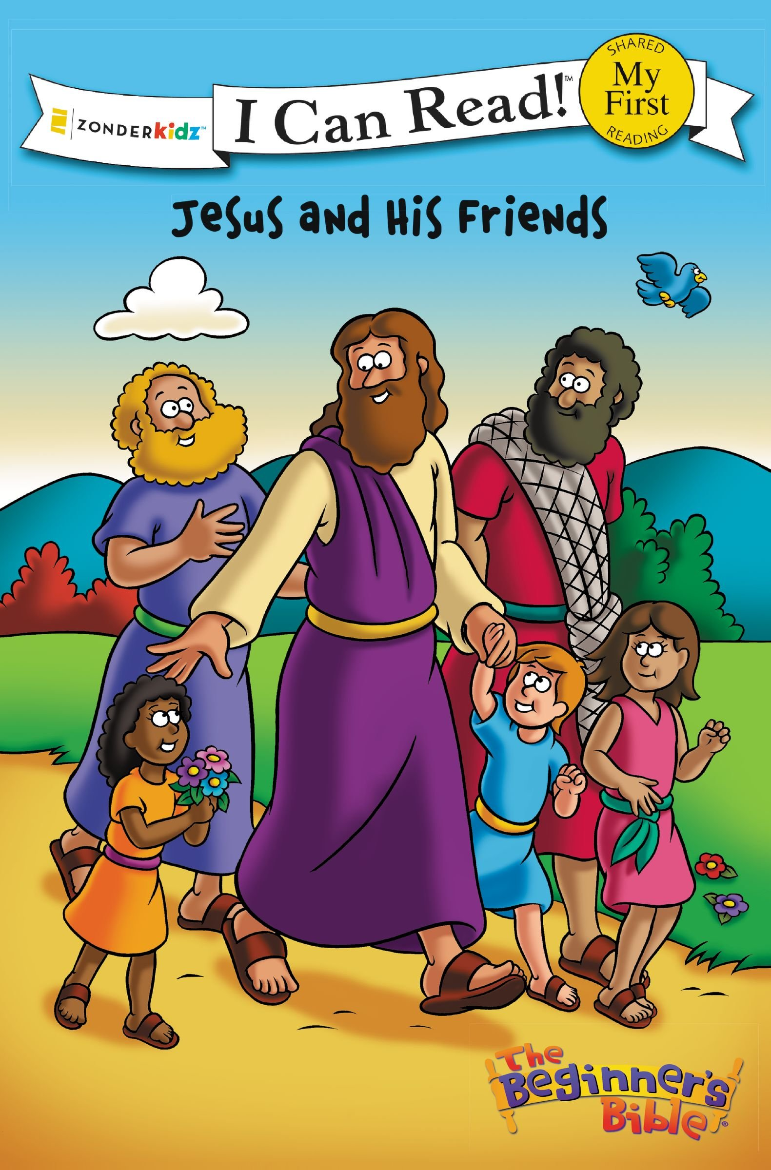 The Beginner's Bible Jesus and His Friends (I Can Read! / The Beginner's Bible) pdf