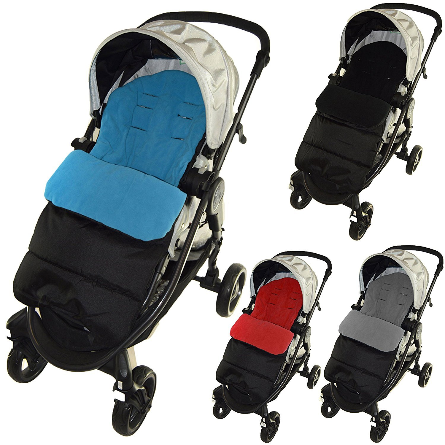 Saco cubrepiés de Cosy Toes compatible con carrito Hauck océano azul For-Your-Little-One Others