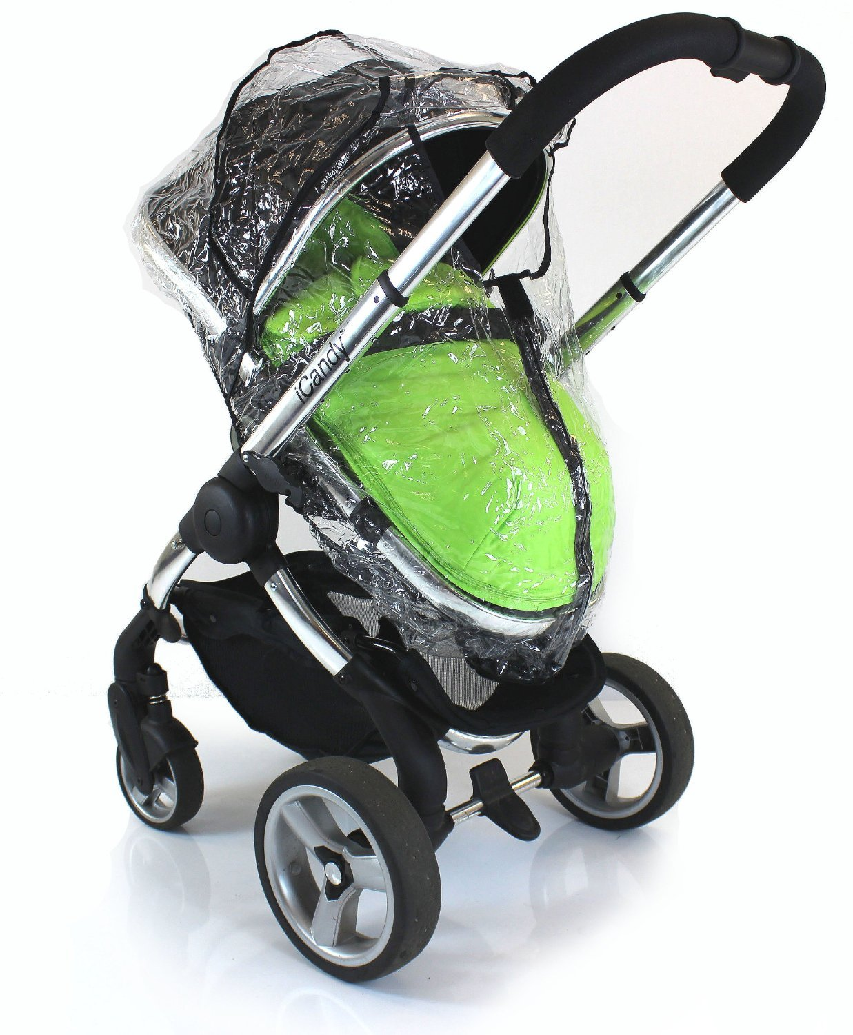 Cherry Pear Stokke Peach Raincover Professional Heavy Duty Rain Cover Universal Fit iCandy Apple