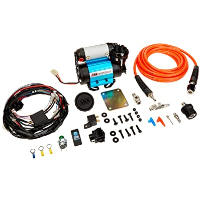 ARB Inflation Kit Air Compressor and Orange Air Hose Pump Up Kit with Quick Fitting Bundle On Board System, CKMA12 and 171302 Part Numbers in a New Air Systems Printed Box (Compressor & Inflation Kit): Automotive [5Bkhe1505258]
