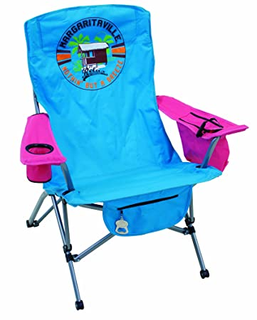 Margaritaville Outdoor Oversize Premium Tension Quad Chair With  U0026quot;Nothing But A Breezeu0026quot; ...
