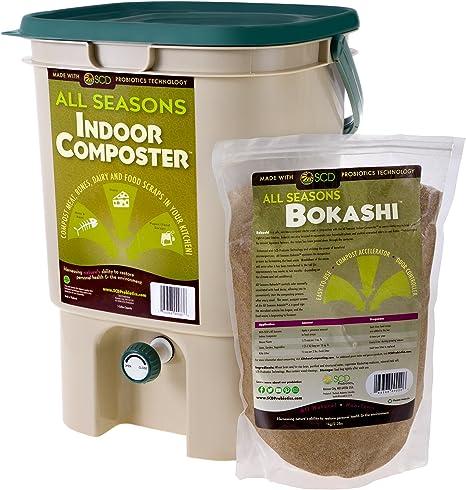 SCD Probiotics All Seasons Bokashi Indoor Countertop Composter
