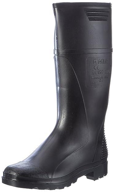 Industrial Zapatera Sa - Bota goma negra mod.1066-41: Amazon.es: Zapatos y complementos