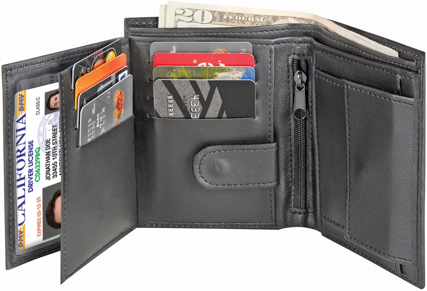 Dream Products 20 Pocket RFID Security Wallet