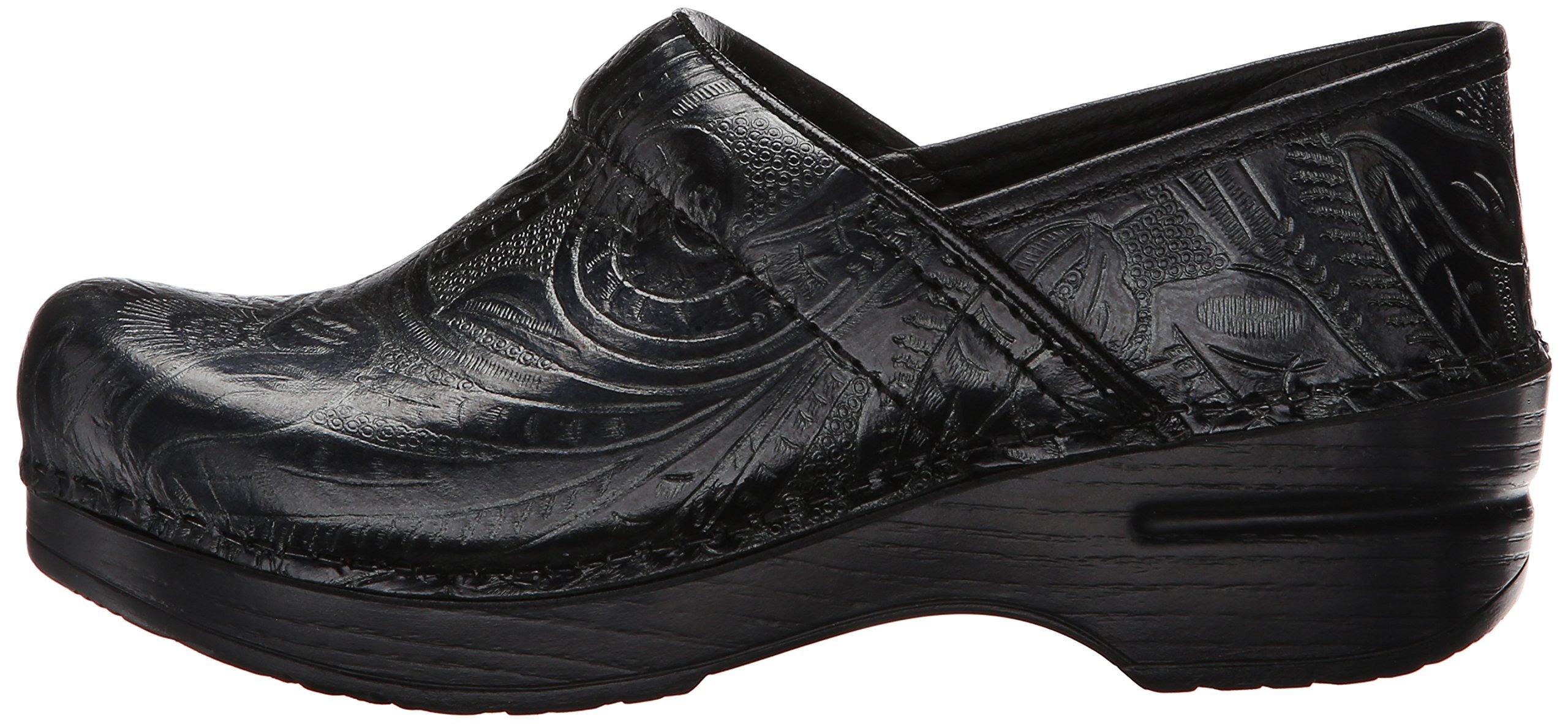 Dansko Women's Professional Clog, Black Tooled Leather , 35 EU/4.5-5 M US by Dansko (Image #5)