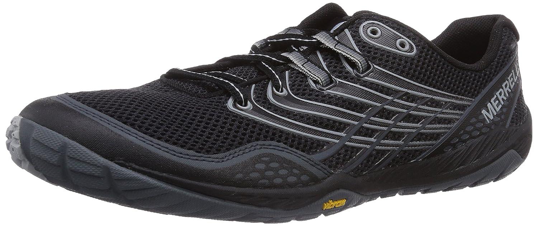 Merrell Herren Trail Glove 3 Traillaufschuhe, Schwarz  50 EU|Schwarz (Black/Light Grey)