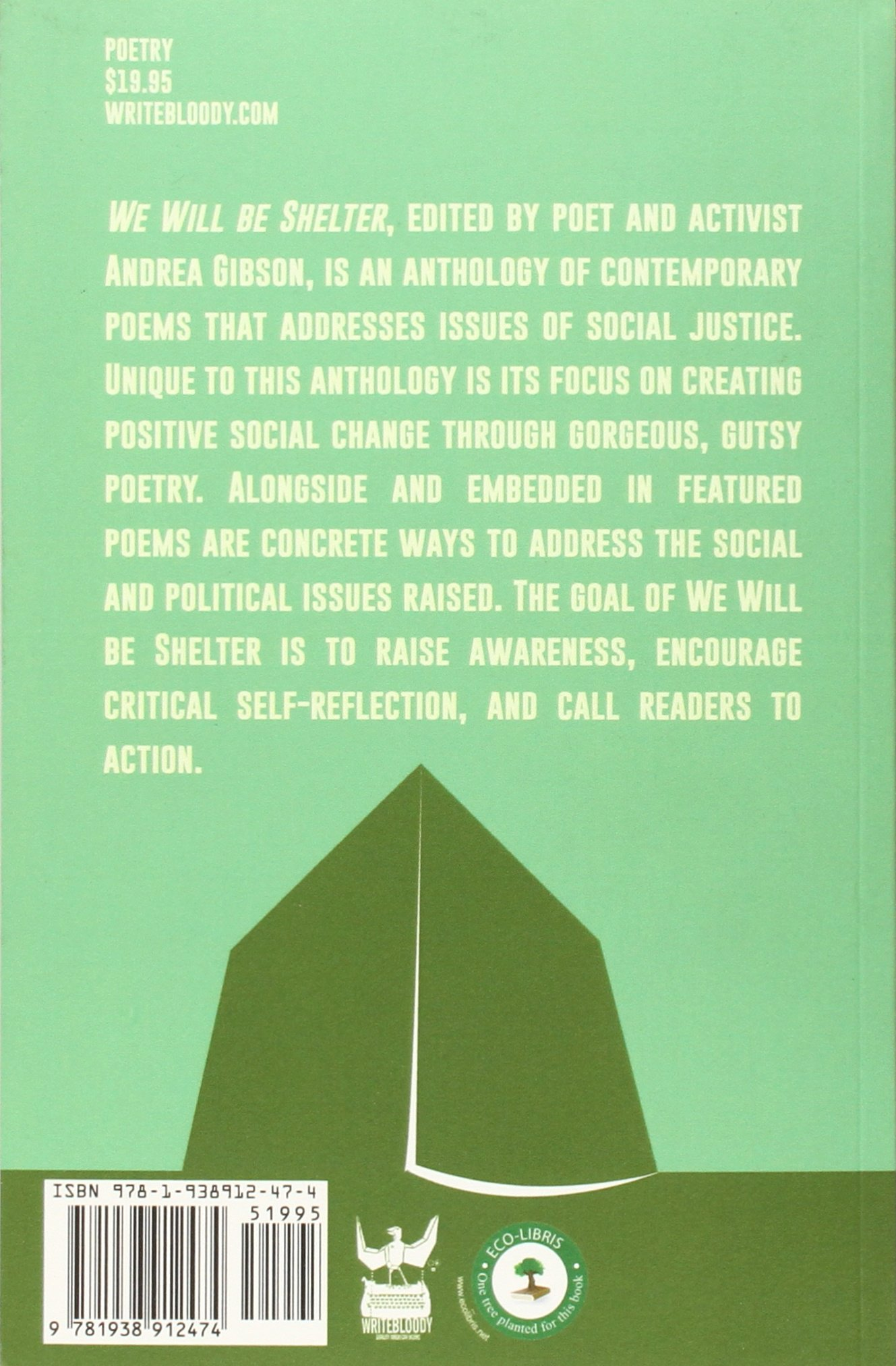 We will be shelter poems for survival andrea gibson we will be shelter poems for survival andrea gibson 9781938912474 amazon books reviewsmspy