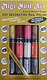 Amazon.com: Migi Nail Art Fingernail Polish Kit - 8 Neon ...