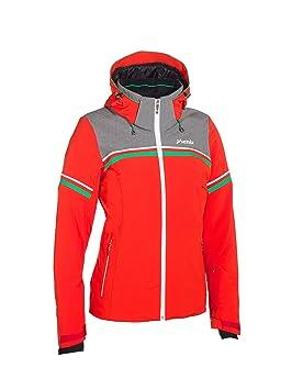 Phenix Orca Chaqueta de esquí para Mujer para Hombre, Invierno, Mujer, Color Rojo, Gris, tamaño 40 [DE 38]: Amazon.es: Deportes y aire libre