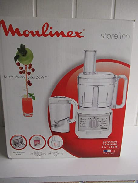 Robot Cocina Moulinex FP3241 Compacto: Amazon.es