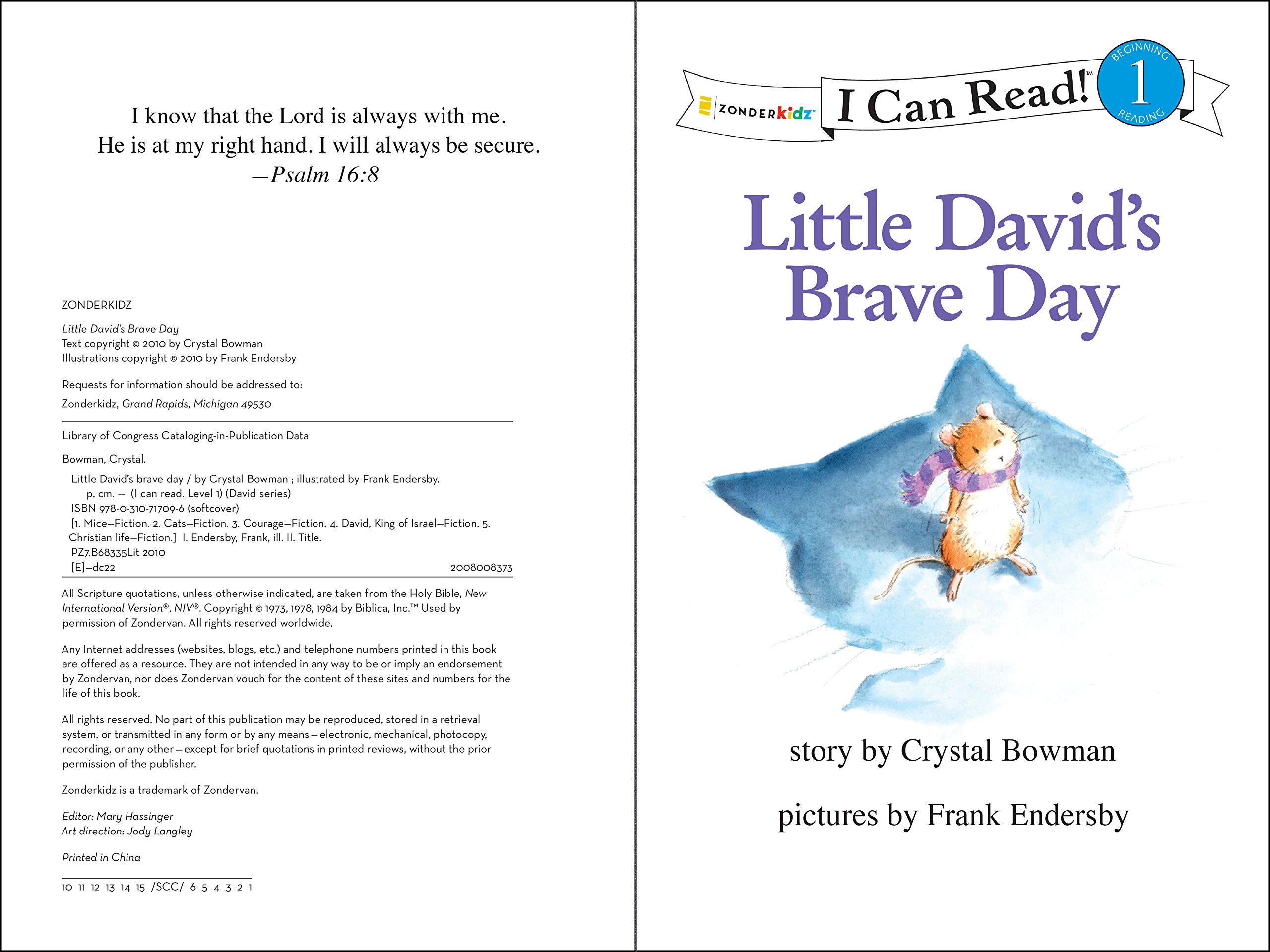 little david sings for the king bowman crystal