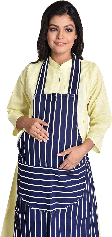 Delantal de cocina Transforming Life 100% algodón con 2 bolsillos ...