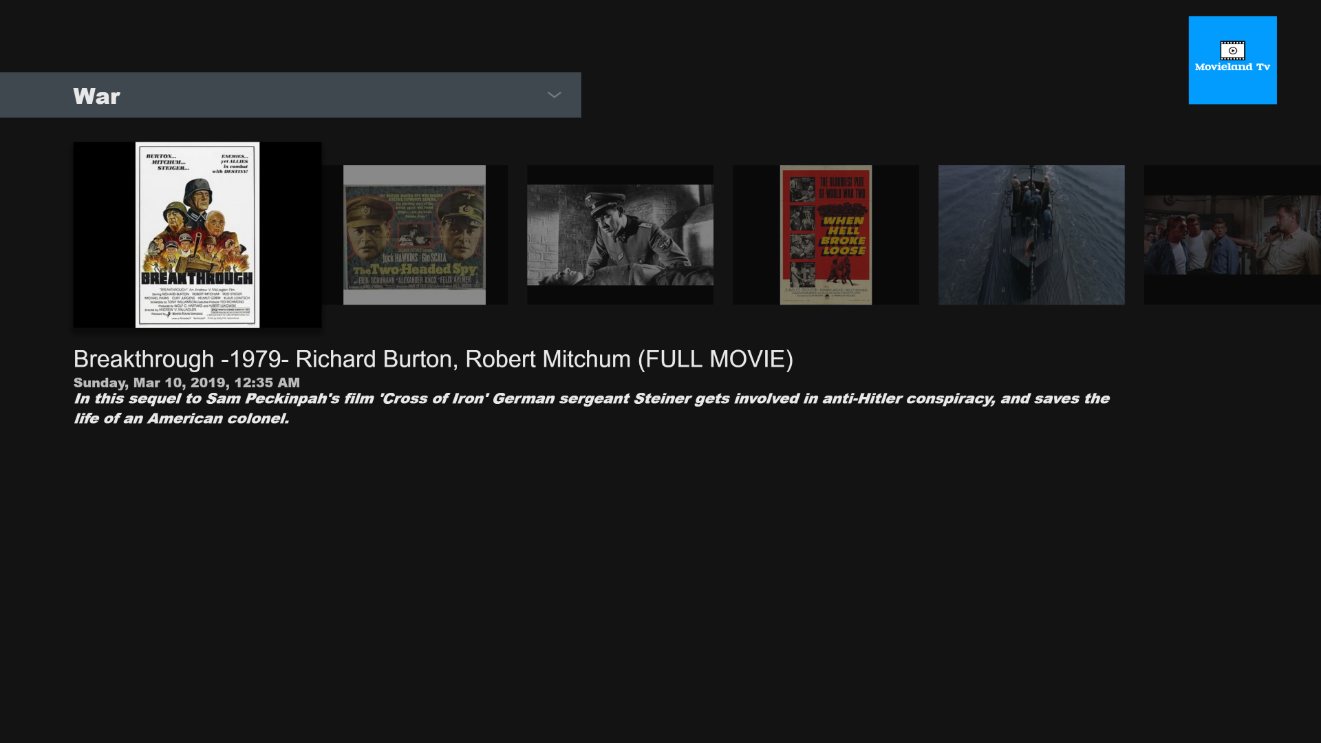 Amazon Com Movieland Tv Appstore For Android