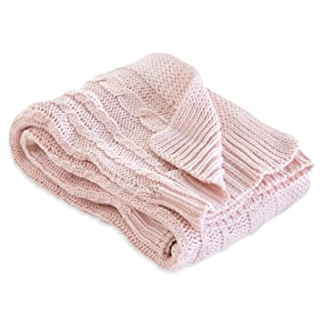 Amazon Com Burt S Bees Baby Cable Knit Blanket Baby Nursery
