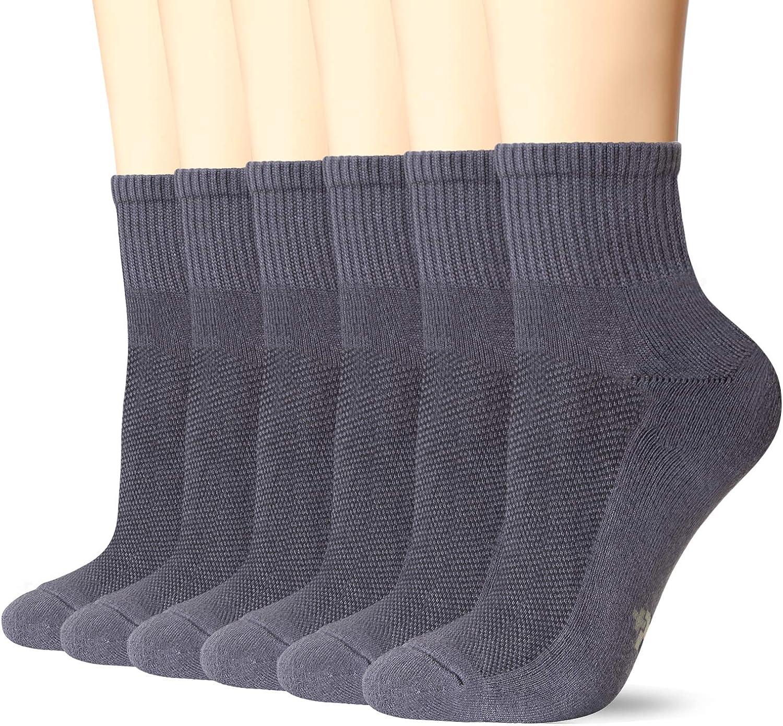 +MD 2/4/6 pares de calcetines deportivos Calcetines deportivos unisex Calcetines deportivos transpirables para practicar fitness, tenis, trotar, todos los días