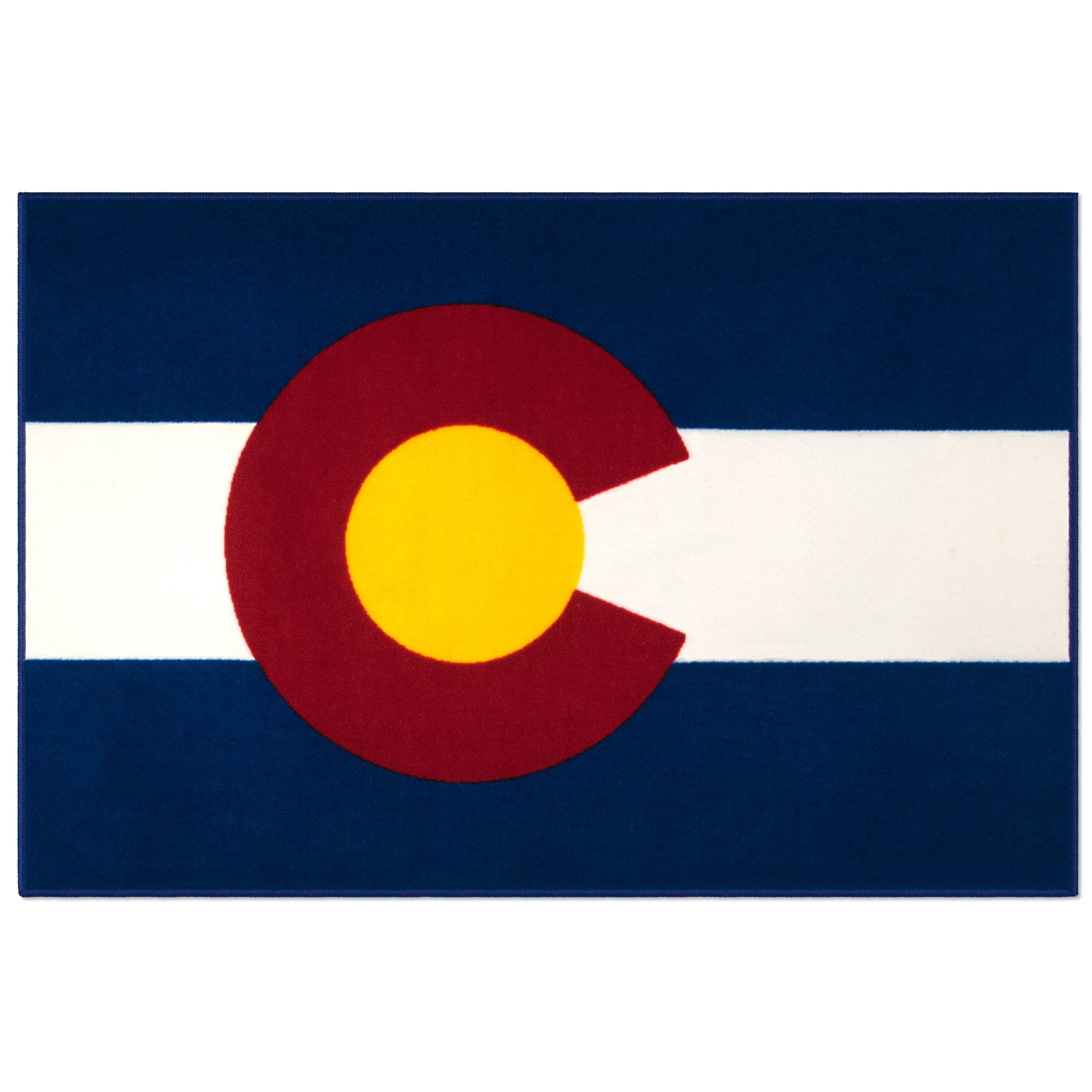 State of Mind Colorado State Flag 39x59 in. Rug