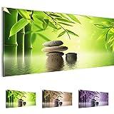 Bilder 100 x 40 cm - Feng Shui Bild - Vlies Leinwand - Kunstdrucke -Wandbild - XXL Format - mehrere Farben und Größen im Shop - Fertig Aufgespannt !!! 100% MADE IN GERMANY !!! - 501912a