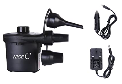 Amazon.com: NiceC Bomba de aire portátil eléctrica 110 V AC ...